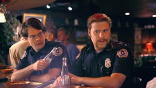 Bill Hader and Seth Rogan in 'Superbad'