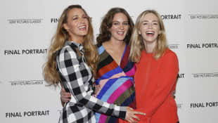 Blake Lively, Felicity Blunt, and Emily Blunt