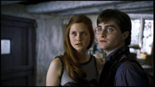 Bonnie Wright and Daniel Radcliffe
