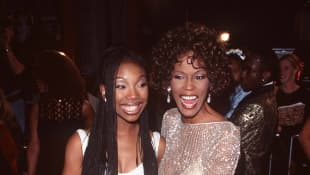 Brandy and Whitney Houston.