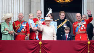 The British Royal Family: Queen Elizabeth II, Prince Philip, Prince Charles, Prince William, Prince Harry and Co.