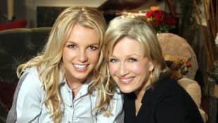 Britney Spears and Diane Sawyer