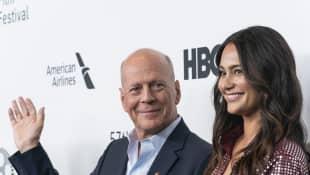 Bruce Willis y Emma Heming Willis