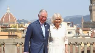 Camilla Parker-Bowles y el Príncipe Carlos