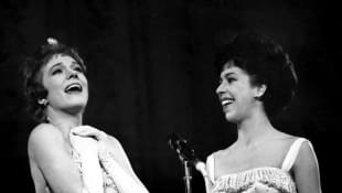 Carol Burnett and Julie Andrews Were Caught Kissing By THIS Former First Lady