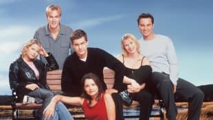 The cast of 'Dawson's Creek'.