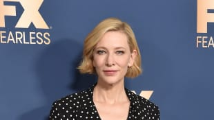 "Cate Blanchett Says She's ""Fine"" After Suffering ""Little Nick to the Head"" In Chainsaw Accident"