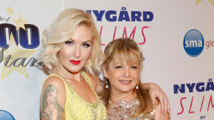 Charlene Tilton and her daughter, country singer Cherish Lee.