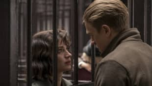 Eve Hewson and Charlie Hunnam in 'Papillon'