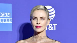Charlize Theron talks about whether or not the next Bachelor Peter Weber slid into her DM's