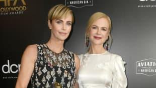 Charlize Theron and Nicole Kidman