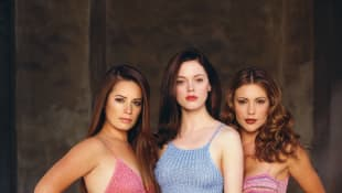 'Charmed' Cast.