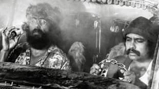 Cheech Marin and Tommy Chong in 'Up in Smoke'