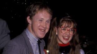 Chris Burke y Kellie Martin