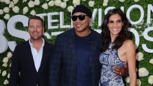 Chris O'Donnell, LL Cool J and Daniela Ruah