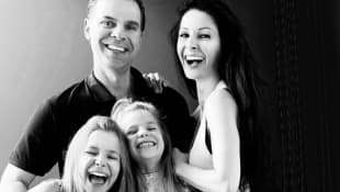 Christian Martinoli y familia