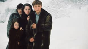 Georgie Henley, Skandar Keynes, Anna Popplewell y William Moseley en 'Las crónicas de Narnia'.