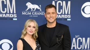Cassie Randolph and Colton Underwood at the 54th American Country Music Awards