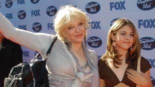 Courtney Love and Frances Bean Cobain