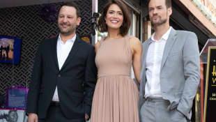 Dan Fogelman, Mandy Moore and Shane West