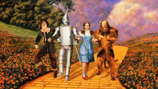 Escena de la película 'El mago de Oz'