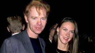 David Caruso y Margaret Buckley