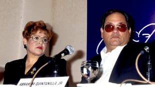 Marcella y Abraham Quintanilla