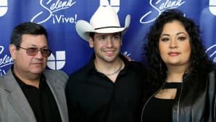 Abraham Quintanilla, Bobby Pulido y Suzette Quintanilla