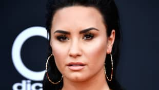 Demi Lovato attends the 2018 Billboard Music Awards at MGM Grand Garden Arena on May 20, 2018