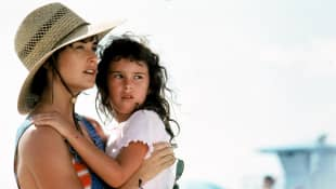 Demi Moore and Rumer Willis in 'Striptease'.
