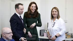 The Duchess of Cambridge visits London charity Family Action