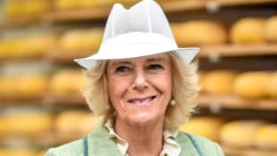 """The Duchess of Cornwall made a joke in Bath about being a """"good wife"""" to Prince Charles."""
