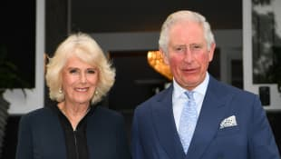 Duchess Camilla and Prince Charles