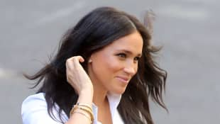Meghan, Duchess of Sussex launches the Smart Works capsule collection on September 12, 2019