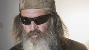 Phil Robertson of Duck Dynasty being interviewed at the RNC Cleveland U.S. on July 21st, 2016.