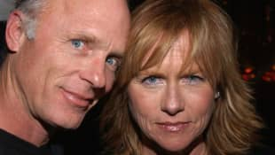 """Ed Harris and Amy Madigan attend the """"Carnivale"""" second season party on January 6, 2005 in Hollywood, California."""