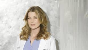 "Ellen Pompeo as ""Meredith Grey"" in 'Grey's Anatomy'"