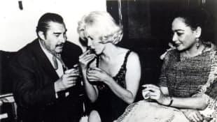 Emilio 'El Indio' Fernández, Marilyn Monroe y Columba Dominguez