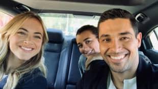 Wilmer Valderrama, Emily Wickersham and Coté de Pablo NCIS Season 17
