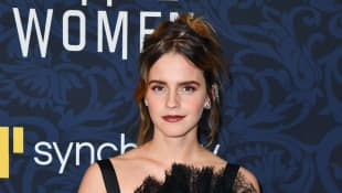 "Emma Watson arrives for ""Little Women"" world premiere at the Museum of Modern Art in New York on December 7, 2019"