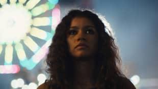 Zendaya en una escena de la serie 'Euphoria'