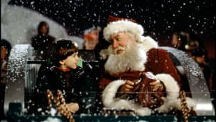 Eric Lloyd and Tim Allen in Santa Clause