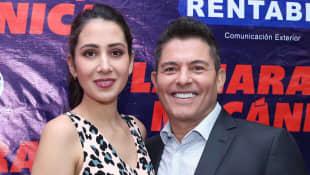 Ernesto Laguardia y su esposa Patricia Rodríguez