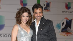 Alessandra Rosaldo y Eugenio Derbez