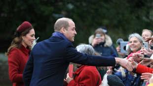 El príncipe William y Kate Middleton