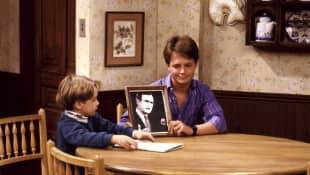 'Family Ties' Production Still