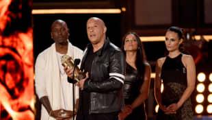 Tyrese Gibson, Vin Diesel, Michelle Rodriguez, and Jordana Brewster