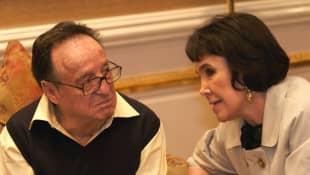 Florinda Meza y Roberto Gómez Bolaños