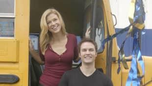 Adrianne Palicki and Scott Porter in 'Friday Night Lights'