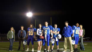 The Cast of 'Friday Night Lights'.